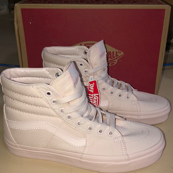 Vans Shoes | New Baby Pink High Top